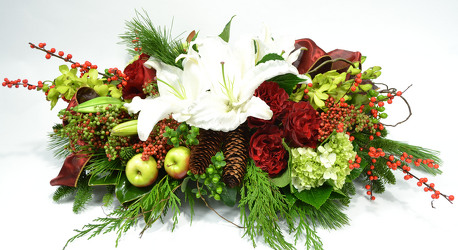Heart of the Holiday from Mockingbird Florist in Dallas, TX