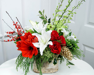 Christmas Flowers from your Dallas Florist, Mockingbird Florist