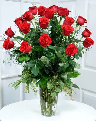 24 Gorgeous Long Stem Premium Red Roses   from Mockingbird Florist in Dallas, TX