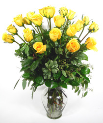 24 Elegant Yellow       from Mockingbird Florist in Dallas, TX