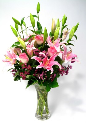 Lilies and Roses Large from Mockingbird Florist in Dallas, TX