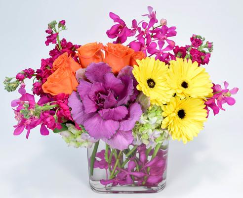 Florist in dallas best flowers roses arrangements delivery pink lemonade item no arv 86 mightylinksfo