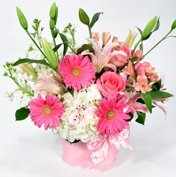 Dallas delivery of New Baby Flowers and floral arrangements.