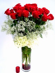 To Her With Love     24  Long Stem Roses  Wow! from Mockingbird Florist in Dallas, TX