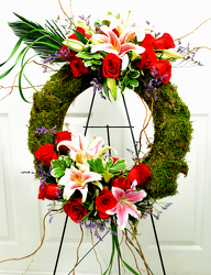 Cherished Wreath from Mockingbird Florist in Dallas, TX
