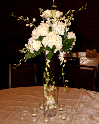 Westin Hotel Table Centerpiece  from Mockingbird Florist in Dallas, TX