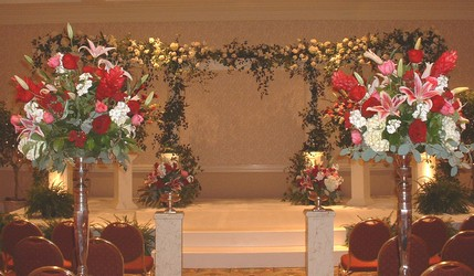 Ceremony Decorations from Mockingbird Florist in Dallas, TX
