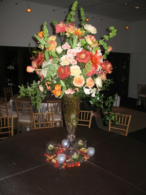 Table Decorations from Mockingbird Florist in Dallas, TX