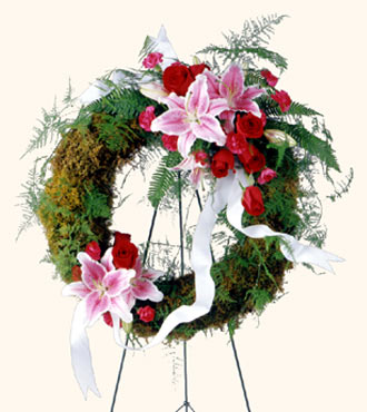 Ftd Lily Rose Wreath