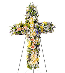 Angel's Cross from Mockingbird Florist in Dallas, TX