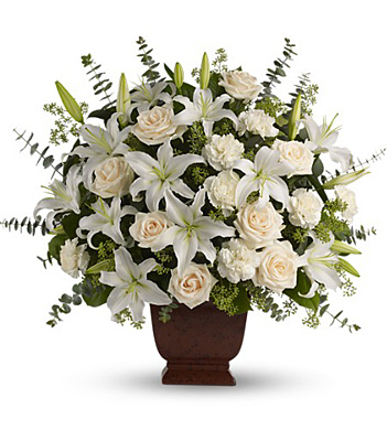 Teleflora's Loving Lilies and Roses Bouquet from Mockingbird Florist in Dallas, TX